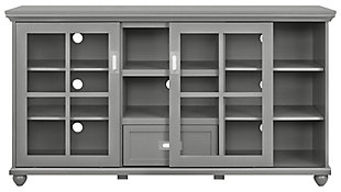 Gray TV Stand, , large