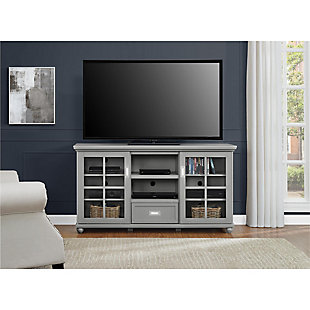 Gray TV Stand, , rollover