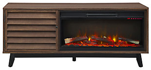 "Fireplace DHP 62"" TV Stand, , large"
