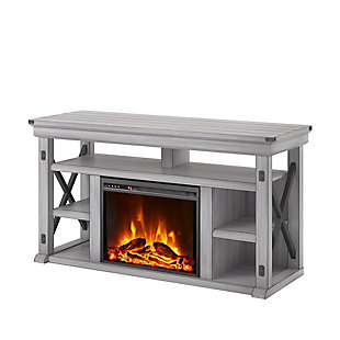 "Ameriwood Home Broadmore Fireplace TV Stand for TVs up to 60"", , rollover"