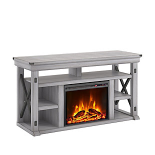 "Ameriwood Home Broadmore Fireplace TV Stand for TVs up to 60"", , large"