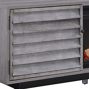 """Ameriwood Home Orchard Point Fireplace TV Console for TVs up to 60"""" Wide, , large"""