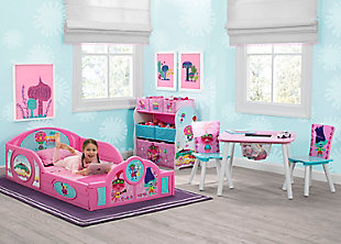Delta Children Trolls World Tour Toddler Bedroom Bundle, , rollover