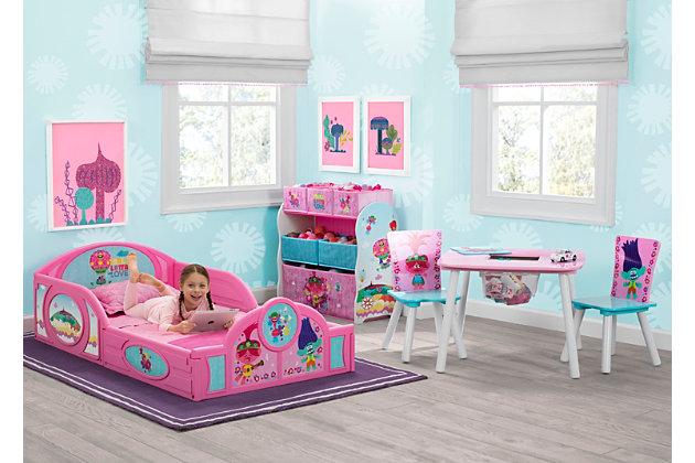 delta children trolls world tour toddler bedroom bundle