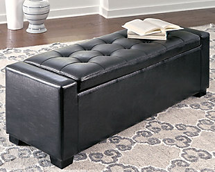 Benches Upholstered Storage Bench, , rollover
