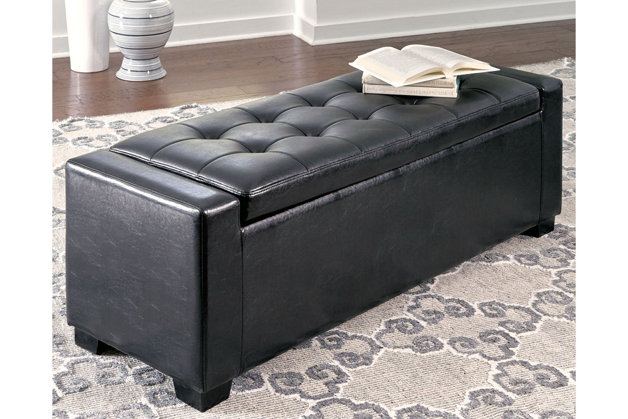 Prime Benches Upholstered Storage Bench Ashley Furniture Homestore Creativecarmelina Interior Chair Design Creativecarmelinacom