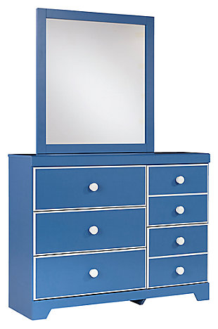 Bronilly Dresser And Mirror