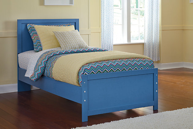 Blue Bronilly Twin Panel Bed by Ashley HomeStore