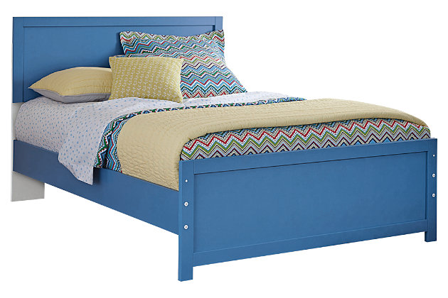 Bronilly Full Panel Bed by Ashley HomeStore, Blue