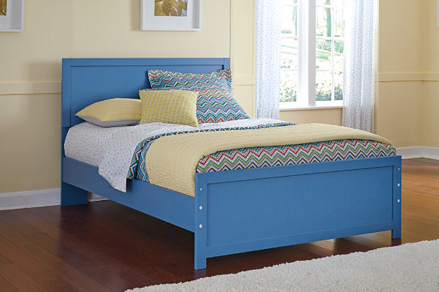 Blue Bronilly Full Panel Bed by Ashley HomeStore