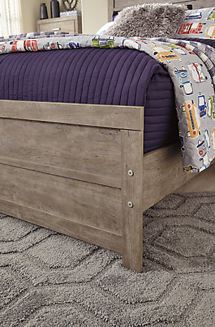 Culverbach Full Panel Bed, Gray, large