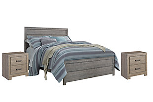 Culverbach 5-Piece Bedroom Package, Gray, large