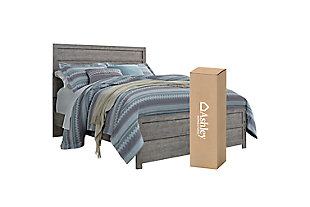 Culverbach Queen Panel Bed with Mattress, , large