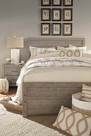 Culverbach King Panel Headboard, Gray, large