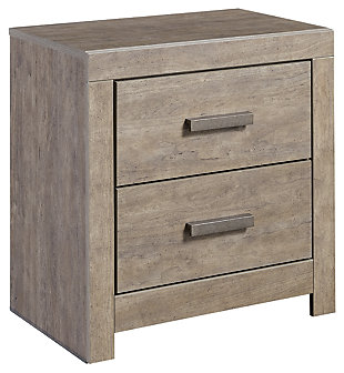 Culverbach Nightstand, Gray, Large ...