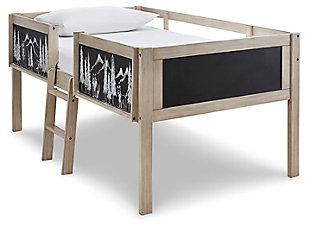 Wrenalyn Twin Loft Bed Frame, , large