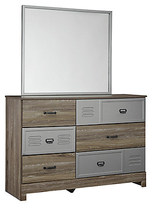 McKeeth Dresser and Mirror, , large