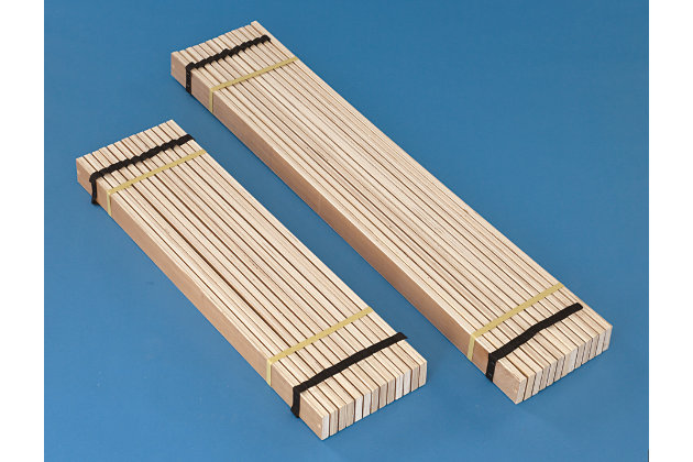 Frames and Rails Twin Roll Slat, Brown, large