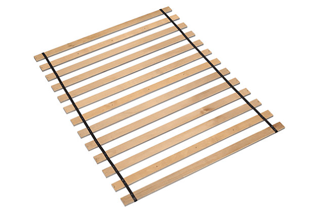 Frames and Rails King Roll Slats by Ashley HomeStore, Brown