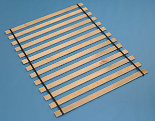 Frames and Rails Twin Roll Slat, , rollover