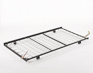 Frames and Rails Twin Trundle Metal Frame, , large