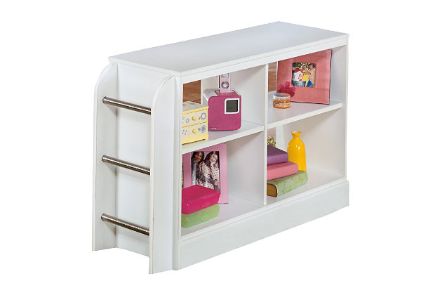 Lulu Loft Bookcase with Ladder, , large