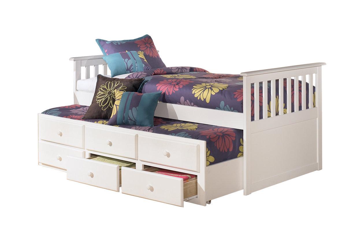 Lulu Twin Trundle Bed | Ashley Furniture HomeStore