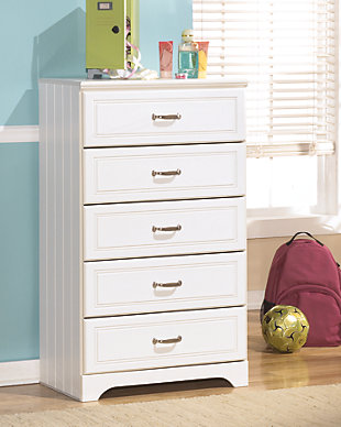 Lulu Chest of Drawers, White, rollover