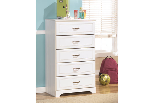 Lulu Chest of Drawers, White, large