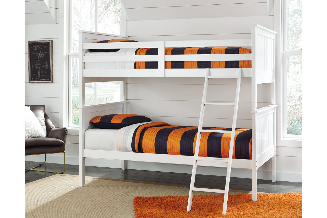 Lulu 15-Piece Twin over Twin Bunk Bed  Ashley Furniture HomeStore