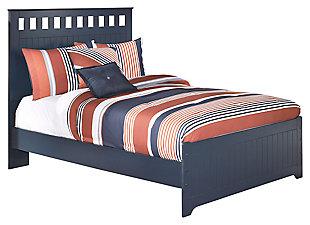 Leo Full Panel Bed Blue Large