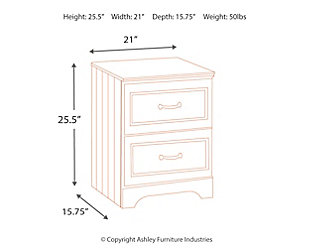 Leo Nightstand, , large