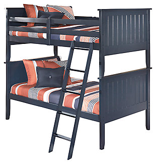 Leo 3-Piece Twin over Twin Bunk Bed, , large