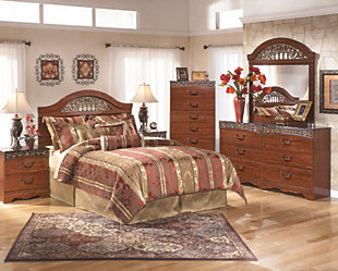 Fairbrooks Estate Queen/Full Panel Headboard, , large
