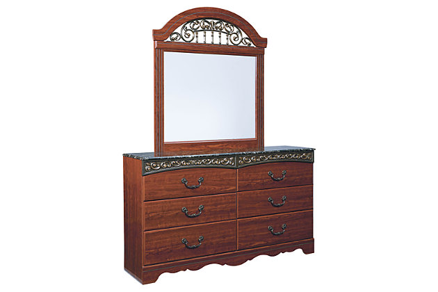 Fairbrooks Estate Dresser and Mirror, , large