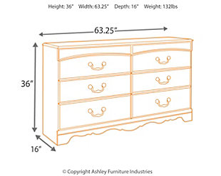 Fairbrooks Estate Dresser, , large