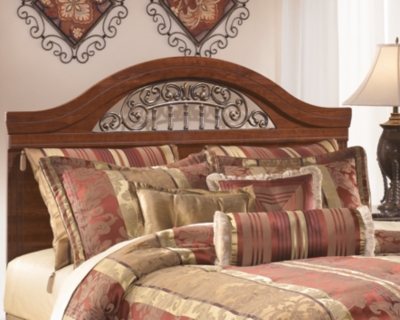 Queen Full Panel Headboard Reddish Brown Estate Product Photo 3360