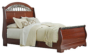 Fairbrooks Estate Queen Sleigh Bed, , large