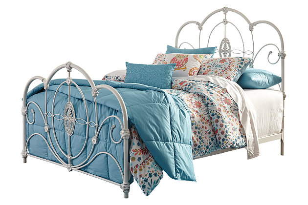 Loriday Full Metal Bed by Ashley HomeStore,