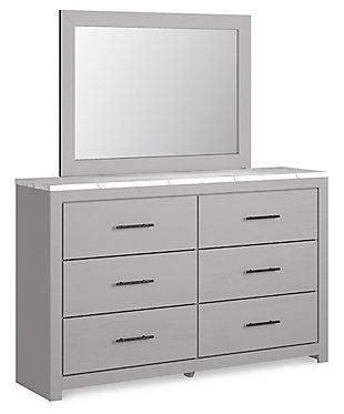 Cottonburg Dresser and Mirror, , large