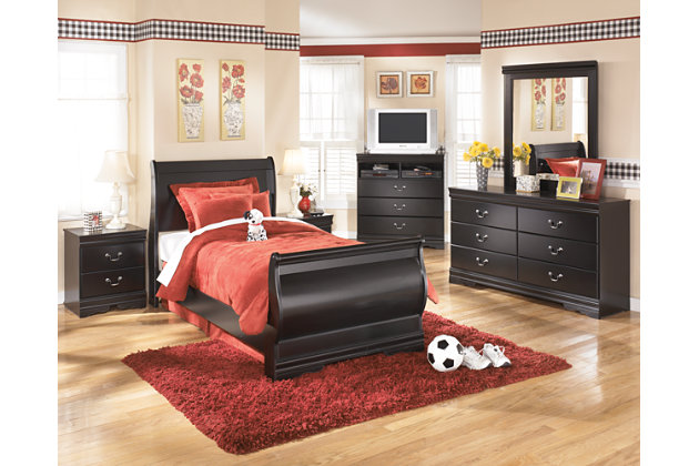 Black Huey Vineyard Dresser by Ashley HomeStore