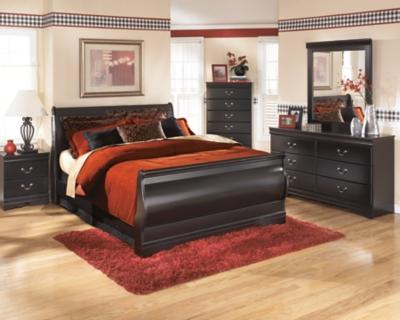 Huey Vineyard Queen Sleigh BedAshley Furniture HomeStore