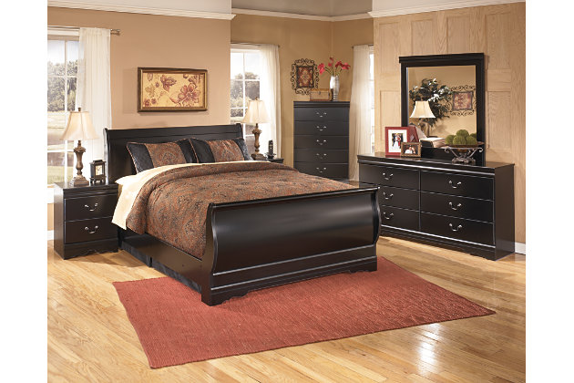 Huey Vineyard Queen Sleigh Bed Ashley Furniture Homestore