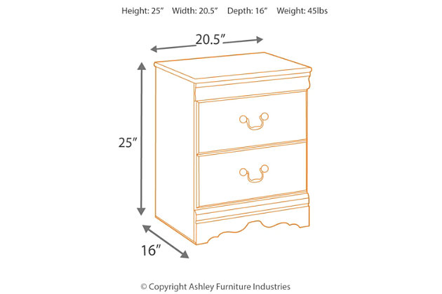 Huey Vineyard Nightstand, , large