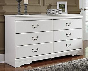 Anarasia Dresser, White, rollover