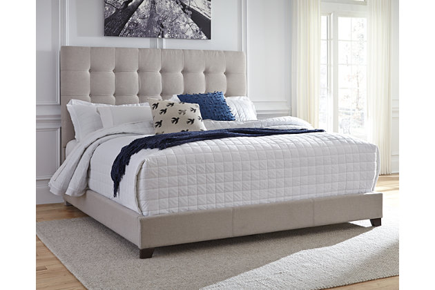 Dolante King Upholstered Bed Ashley Furniture Homestore