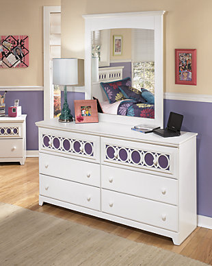 Zayley Dresser and Mirror, , rollover