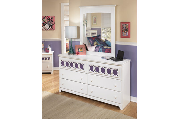 Zayley Dresser And Mirror Large