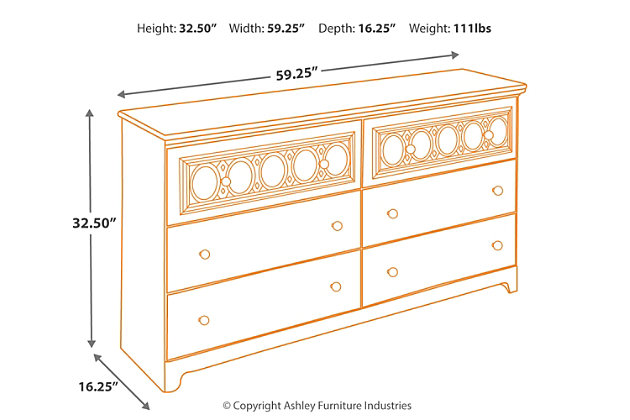 Zayley Dresser Ashley Furniture Homestore