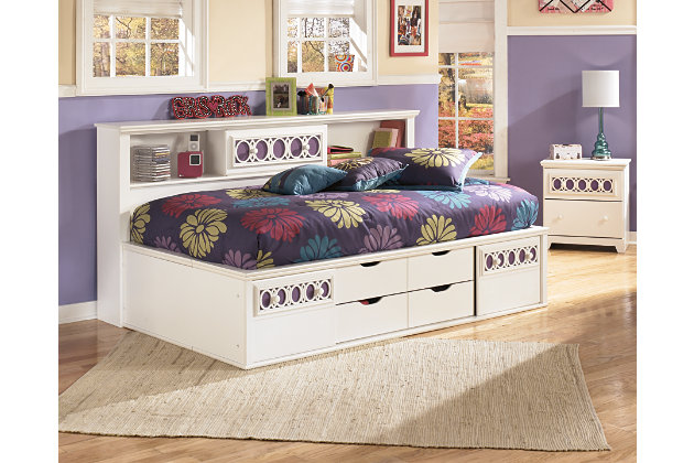 regarding for home by ideas trundle full size panel delightful bed ashley with plans storage bookcase beds bedroom furniture zayley